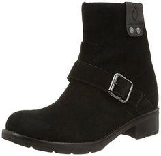 Calvin Klein Jeans HADLEY SUEDE, Damen Bootsschuhe, Schwarz (BLACK), 37 EU - http://uhr.haus/calvin-klein-jeans/calvin-klein-jeans-hadley-suede-damen-schwarz-37