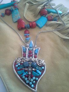 "Rosenvinge design, "" one of each"" Turquoise Necklace, Pendant Necklace, Jewelry, Design, Fashion, Moda, Jewlery, Jewerly, Fashion Styles"
