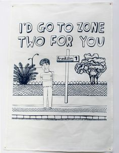I'd Go To Zone Two For You, when in #Melbourne
