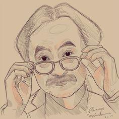 Jiro Taniguchi by Begominola.deviantart.com on @DeviantArt