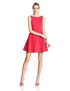 Nanette Lepore Women's Fiesta Brava Seamed Twill Fit and Flare Dress, Poppy Red, 4 Nanette Lepore http://www.amazon.com/dp/B00PR3HMGA/ref=cm_sw_r_pi_dp_8Rx8vb1N2VVA0