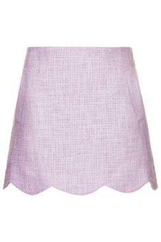 Betty Scallop Skirt - Skirts - Clothing