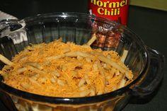 Mostly Homemade Mom - Easy Chili Cheese Fries  www.mostlyhomemademom.com