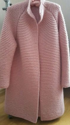 Sleek And Glamour Crochet Cardigan Pattern Ideas - Page 50 Of 53 - Beauty Crochet Patterns! Knit Cardigan Pattern, Knitted Baby Cardigan, Crochet Jacket, Knit Crochet, Knitted Coat Pattern, Free Crochet, Diy Crafts Knitting, Easy Knitting, Knitting Stitches