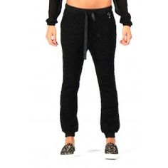 pantalone nero stelle twinset