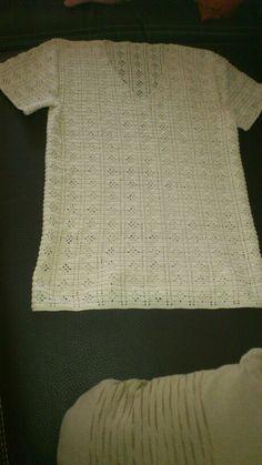 Sweter de crochet