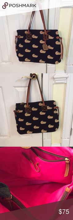Dooney & Burke purse Canvas duck tote Bags Totes