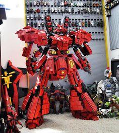 GUNDAM GUY: Gundam x LEGO: Sazabi
