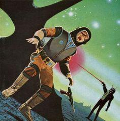 The Vault of Retro Sci-Fi — slumberellaa:   Paul E. Wenzel  #PursuitoftheZodiacs #Mosqidou