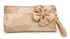 Large Wristlet Clutch - Simply Elegant $68