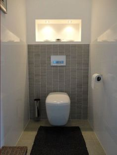 Photo carrelage wc carrelage fa ence am nagement pinterest photos - Deco wc zwart ...