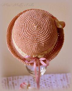 Miss Molly's Dolls free hat pattern