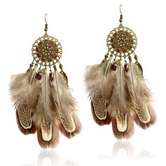 Ethnic Indian Boho Earrings  Price: 18.00 & FREE Shipping  #dreamcatchertattoo  #nativeamericanmen#bohojewelry  #gypsynurse  #spiritjunkie  #meditationeveryday