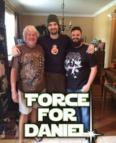 The Terminally Ill Star Wars Fan Who Asked To See 'The Force Awakens' Early Just Got His Wish - J.J. Abrams called Daniel himself! #forcefordaniel