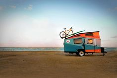 Check out these lightweight trailer alternatives that are perfect for couples and small families! They are unique, innovative, aerodynamic and durable! With reduced towing weight, the fuel-efficiency of these types of #trailers allow you to go #camping without renting a truck. We'd love to share your experiences and unique sleeping quarters with our readers! http://www.highwaywestvacations.com/lightweight-trailer-alternatives-provide-comfort-and-convenience/