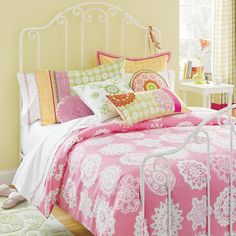 land of nod bedding-love this color palette