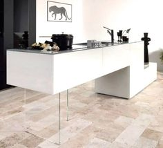 Air Kitchen Lago #transparence #design #architecte