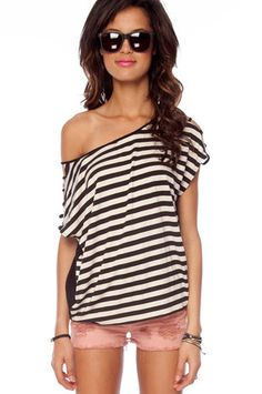 Stripes and Ladders Top