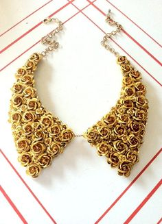 Gold Oxford Bib---I have never seen anything like this! This is too cute!
