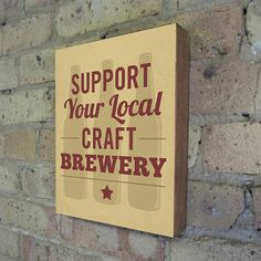 Support Your Local Craft Brewery via LuciusArt on Etsy. Philadelphia's breweries: http://vstphl.ly/IhaAgy