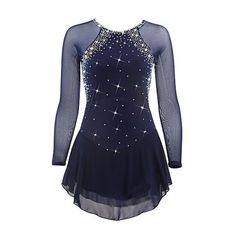 Figure Skating Dress Patterns – Design Patterns You are in the right place about roller Skating Pict Figure Skating Competition Dresses, Figure Skating Outfits, Figure Skating Costumes, Figure Skating Dresses, Eislauf Outfits, Dance Outfits, Skate Wear, Dress Patterns, Ideias Fashion