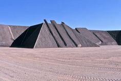 City by Michael Heizer in Basin and Range National Monument