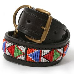 beads dog collar