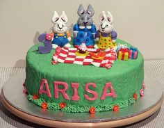 Max and Ruby Cake!, via Flickr.