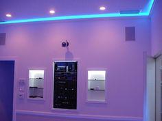 Blue Led Ceiling Lights Lighting Pinterest Ceilings Bulbs and