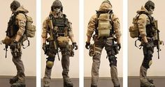 My first Kitbash - Modern Warfare (beware 16 images) - OSW: One Sixth Warrior…