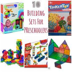 10 Building Toys for Preschoolers