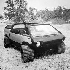 "1976 Brubaker Box / Automecca Sports Van ""Ark Roamer"". Автор дизайна: Curtis Brubaker."