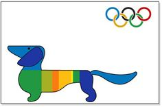 Waldi - Olympic Mascot of the Munich 1972 games Olympic Mascots, Olympic Games Sports, Olympic Gymnastics, Daschund, Dachshund Love, Otl Aicher, Brazil Art, Jordyn Wieber, Wire Haired Dachshund