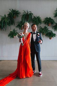 Red wedding dress | Seeking Films