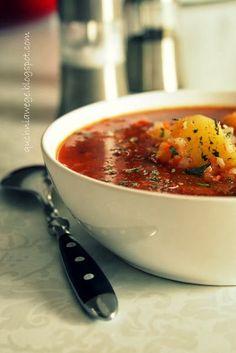 QuchniaWege: Gęsta zupa pomidorowa