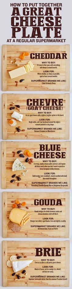 You can get everything you need to make an awesome party cheese plate at any old supermarket. Here's what to look for.