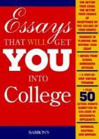 Essay that will get you into college