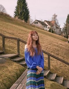More photos of Lee Sung Kyung in Switzerland revealed | allkpop.com