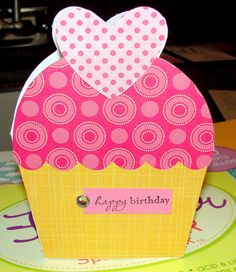 Image Detail for - Inkredible Creations: Cricut Sweet Treats Birthday Cards