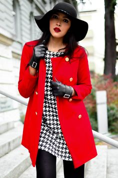 Houndstooth love.