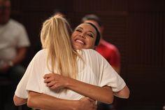 "Brittana hug in Glee 6x03 ""Jagged Little Tapestry"""