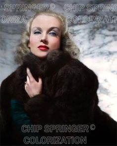 5 DAYS 8X10 CAROLE LOMBARD IN FUR COAT STUNNING COLOR PHOTO BY CHIP SPRINGER. Please visit my Ebay Store at http://stores.ebay.com/x5dr/_i.html?rt=nc&LH_BIN=1 to see the current listings of your favorite Stars now in glorious color! Message me if you would like me to relist your favorites. Check out my New Youtube videos at https://www.youtube.com/channel/UCyX926rA5x4seARq5WC8_0w