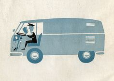 graphic panelvan from 1957 manual | Flickr - Photo Sharing!