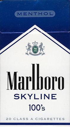 MARLBORO Menthol Skyline 100's 20 Class A Cigarettes