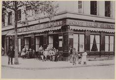 Le Café du Grand-Orient E.Levrat, au 161 boulevard de la Croix-Rousse, vers 1900