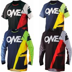 2014 One Industries Mens Vapor All Mountain DH Trail Bike Lightweight Jersey LONG SLEEVE