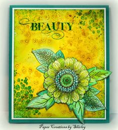Beauty with new Fragment Stamps (by Shirley)