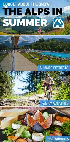 All skiers and boarders know that the Alps offer a truly magical destination in winter, but what is it like in the summer? Here's a quick guide.