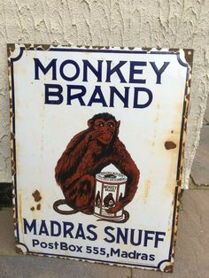 Made in Germany, and in fairly good condition. Area for pick up jct 9 off Vintage India, Vintage Ads, Vintage Signs, Industrial Signs, Reflection Art, Garage Signs, Post Box, Advertising Signs, Day Work