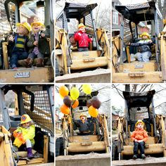 Construction Theme Birthday Party - Riding The Rig at Preparingforpeanut.com never hurts to ask a construction company!
